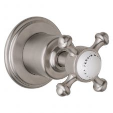 "Georgian 3/4"" Concealed Wall Valve with Crosstop Handle"