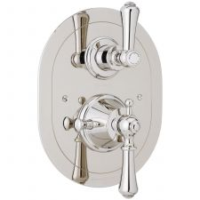 Georgian Concealed Thermostatic Shower Mixer with Lever Handles