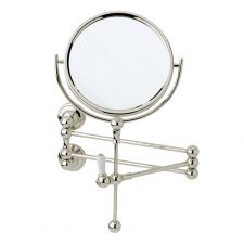 Traditional Wall-Mounted Shaving Mirror