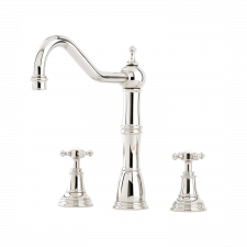 Alsace Sink Mixer with Crosstop Handles