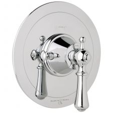 Georgian Concealed Thermostatic Shower Mixer with Lever Handle