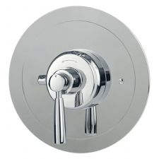 Contemporary Concealed Thermostatic Shower Mixer with Lever Handle