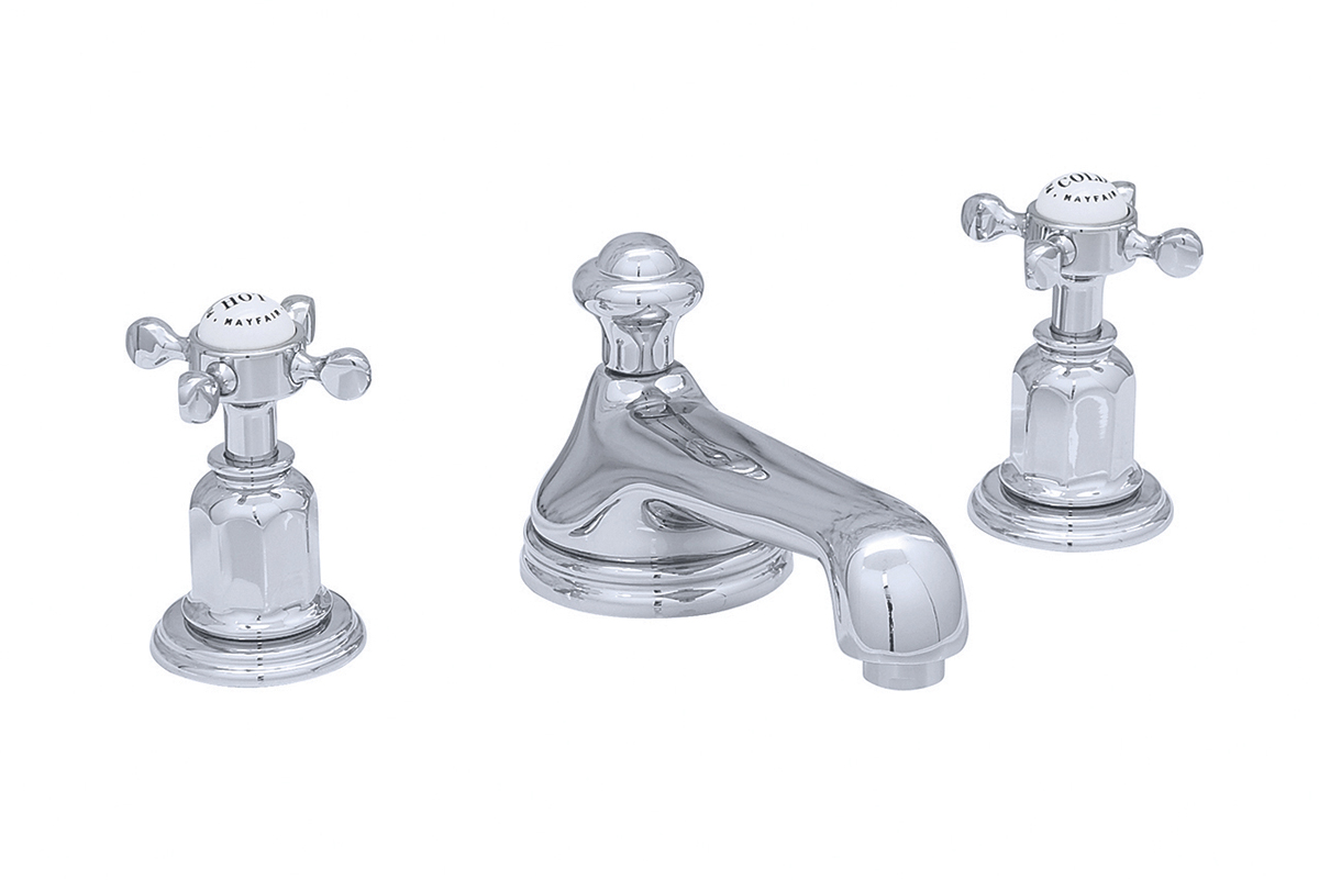 Perrin & Rowe 3706 Traditional Three-Hole Basin Mixer