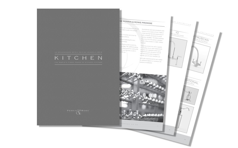Perrin & Rowe Kitchen Kitchen Pricelist